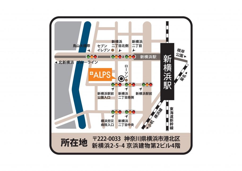 新横浜支店_地図