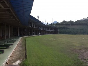 塩田ゴルフ場 練習場風景